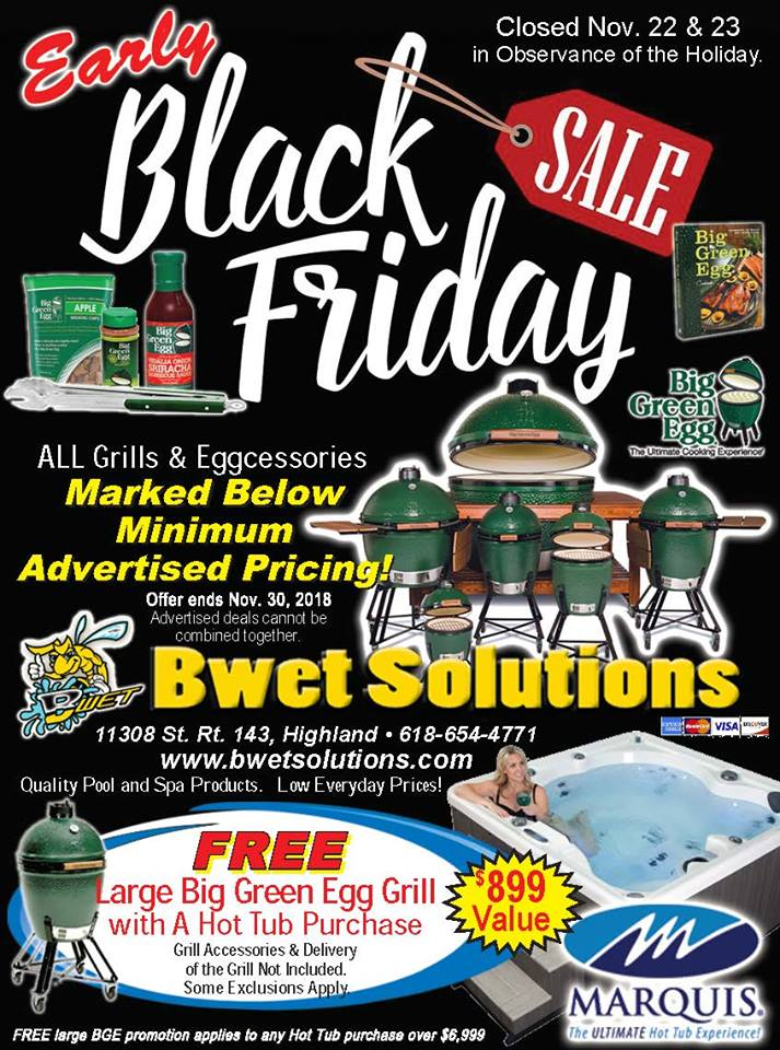 BWet Solutions Black Friday Sale 2018